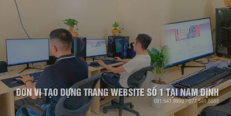 Công ty làm website chuyên nghiệp tại Nam Định