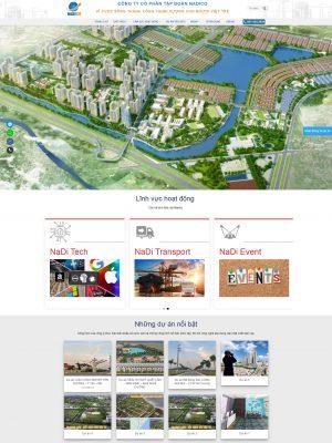 Thiết kế website công ty tại Nam Định