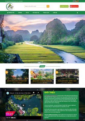 Thiết kế website Homestay tại Ninh Bình