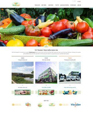 Thiết kế website thực phẩm tại Nam Định